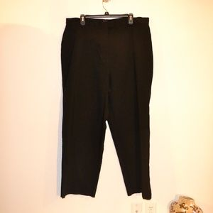 style and co black pants size 20w